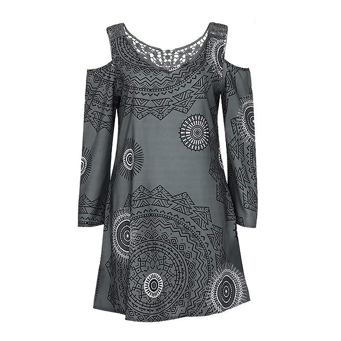 Hwtop Kleiderschrank Sommerkleider Damen Blusenkleid Schwarz Casual WrdBoCxe