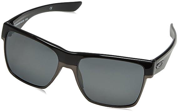 a93ebf329a68a Amazon.com  Oakley Men s Twoface XL Square Sunglasses Black Iridium  Polarized 59.02 mm  Clothing