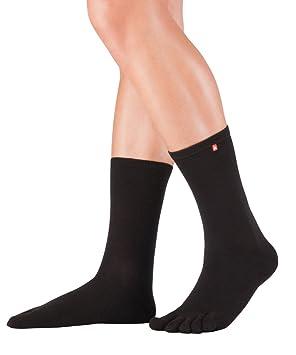 Knitido Track & Trail de media pierna | Calcetines deportivos de dedos en Coolmax® con