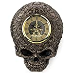 Steampunk Skull Decorative Wall Clock 4