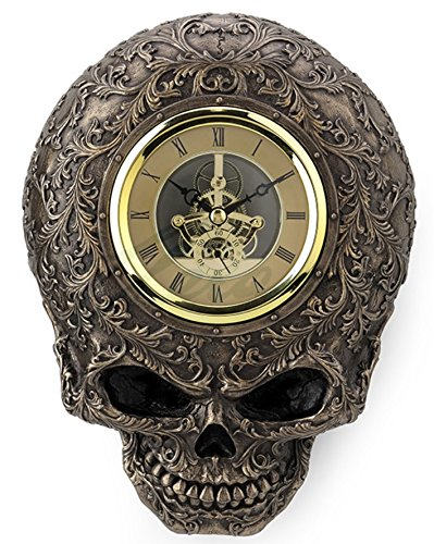 Steampunk Skull Decorative Wall Clock 3