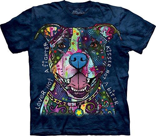Bull Cotton Blanket - The Mountain Russo Kisser Adult T-Shirt, Blue, Medium