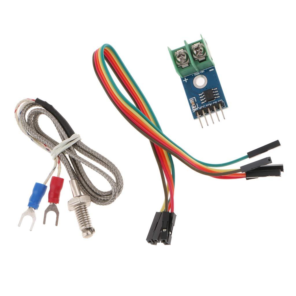 F Fityle Modulo MAX6675 Sensore Termocoppio Sensore Tipo K Correzione Linearit/à