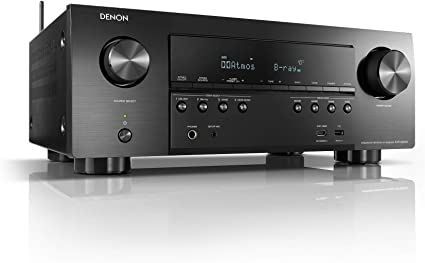 Amazon Com Denon Avr S950h Receiver 7 2 Channel 185w X 7 4k Ultra Hd Home Theater 2019 Music Streaming New Earc 3d Dolby Surround Sound Atmos Dts Virtual Height Elevation Alexa Heos Electronics