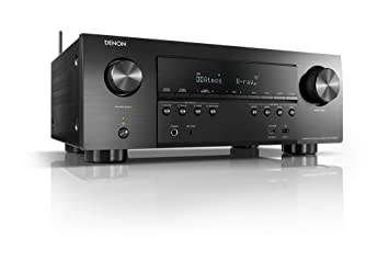 Denon AVR-S950H Receiver, 7 2 Channel (185W X 7) - 4K Ultra HD Home Theater  (2019) | Music Streaming | New - eARC, 3D Dolby Surround Sound (Atmos,