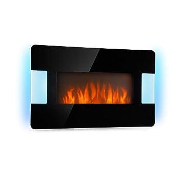 Klarstein Belfort Light & Fire Chimenea eléctrica con Efecto llameante • Chimenea electrónica • 1000/