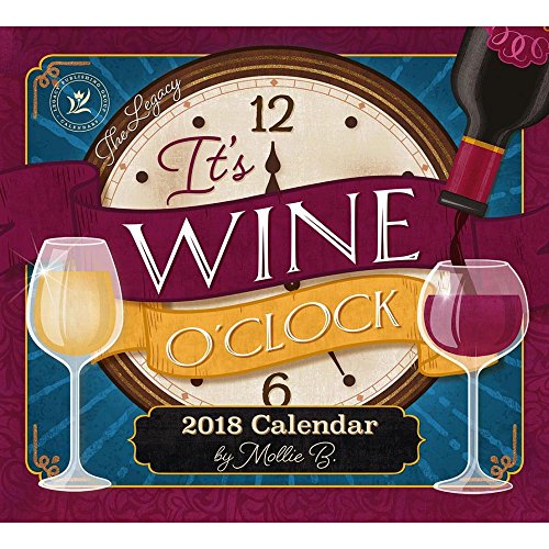 Legacy Publishing Group 2018 12-Month Wall Calendar, Wine Calendar