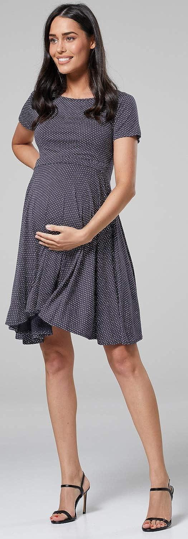 084p HAPPY MAMA Womens Maternity Breastfeeding Nursing Summer Swing Dress