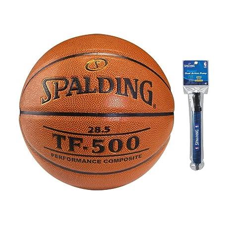 Spalding TF-500 Performance Balón de Baloncesto Compuesto de 28.5 ...
