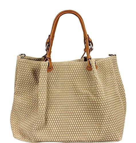 Neue Hand Tasche, Borsa a spalla donna beige beige 1