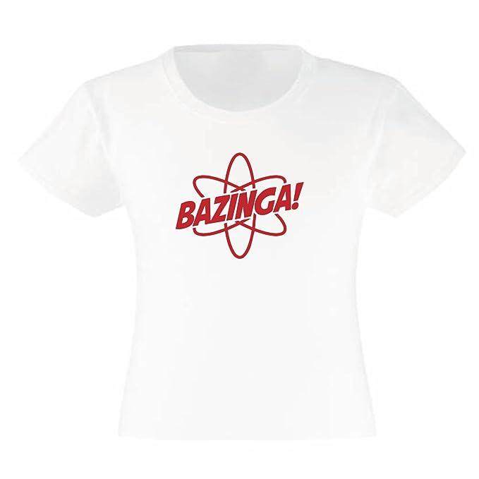 it BazingaBambinaAmazon Athomic ShirtMaglietta T Art LSzGpVqUM