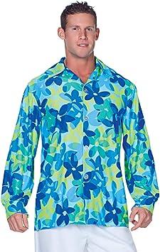 Horror-Shop Camisa Hippie para Hombre, Azul, Talla Grande XXL: Amazon.es: Juguetes y juegos
