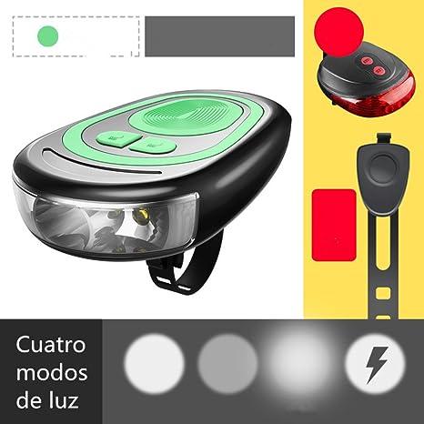 Luz De La Bici-Cargador USB Luces De Bicicleta De Montaña, Tweeter ...