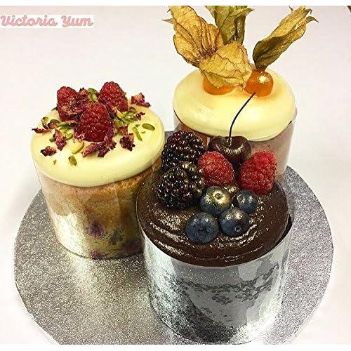 "TIERRAFILM Cake Collar, Chocolate and Cake Decorating Acetate Sheet CLEAR ACETATE ROLL - 4"" x 16 feet 125 micron"