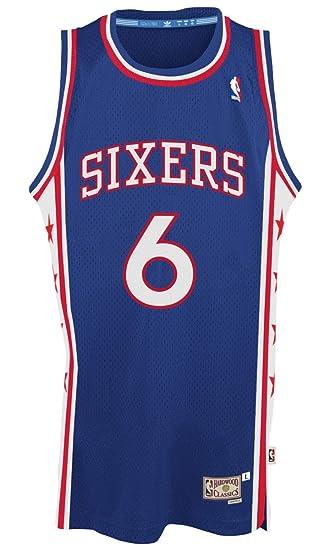 f41abcbcfe2c Julius Erving Philadelphia 76ers Adidas NBA Throwback Swingman Jersey - Blue