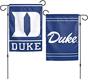WinCraft NCAA Duke Blue Devils 12x18 Garden Style 2 Sided Flag, One Size, Team Color