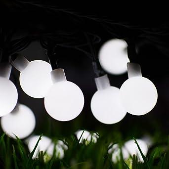 Solar Lichterkette Morbuy Weihnachten 8 Modes Led Solar