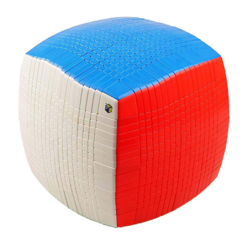JIAAE Concorso Professionale Di Rubik ' S Cube17x17 Alta Difficoltà Rubik Bambini Puzzle Toy [Classe di efficienza energetica A]