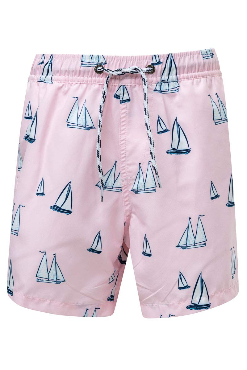 Snapper Rock Boys Boardies (Sail Away, 14)