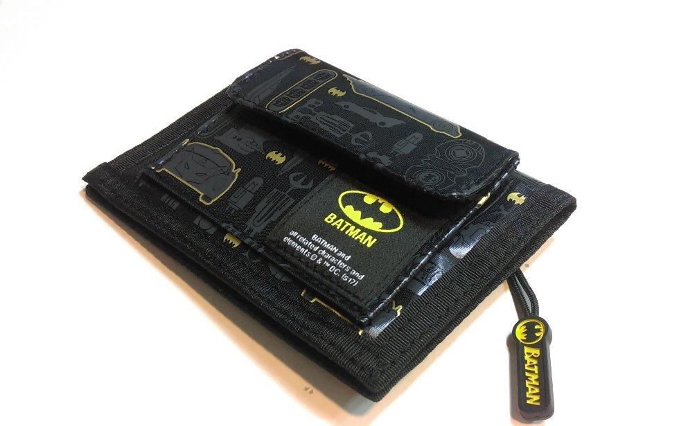Batman Logo Bifold Wallet Coin Purse Card Holder Organizer by Superhero (Image #5)