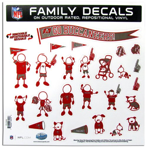 Buccaneers Family Decal - 3