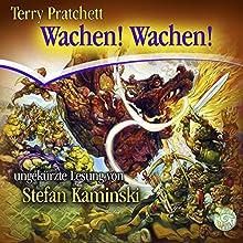 Wachen! Wachen! (Scheibenwelt 8) Hörbuch von Terry Pratchett Gesprochen von: Stefan Kaminski