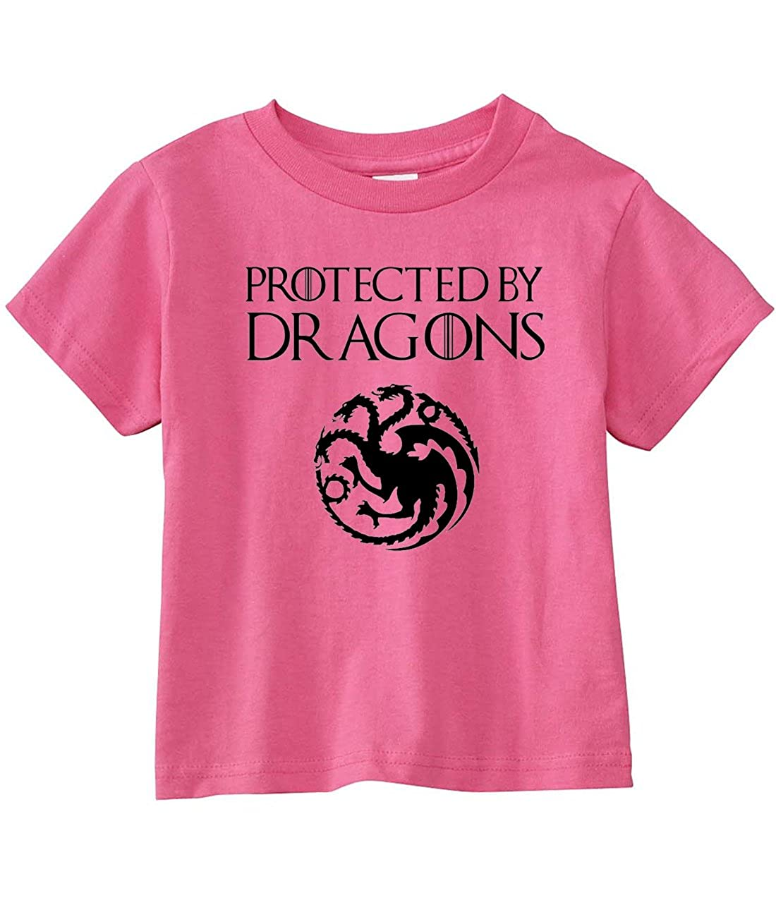 NorthStarTees Game Thrones Toddler Protected Dragons T-Shirt