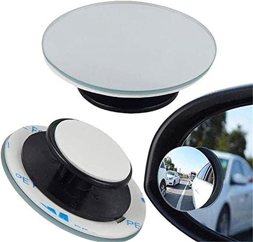 2pcs 360° Blind Spot Removal Mirror Car Wide-angle Convex Mirror 2pcs