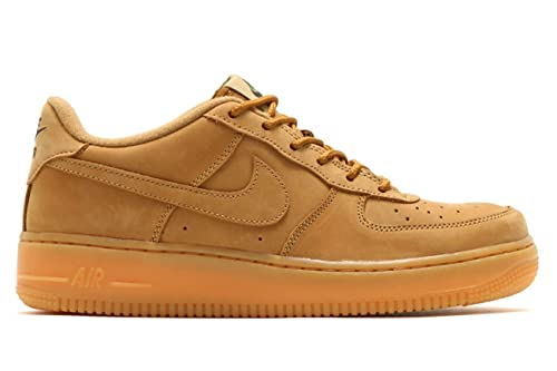 the best attitude a4109 0beac Nike Air Force 1 Lo Winter Premium G.S Youth Big kids Flax Outdoor  Green Gum Light Brown 943312-200