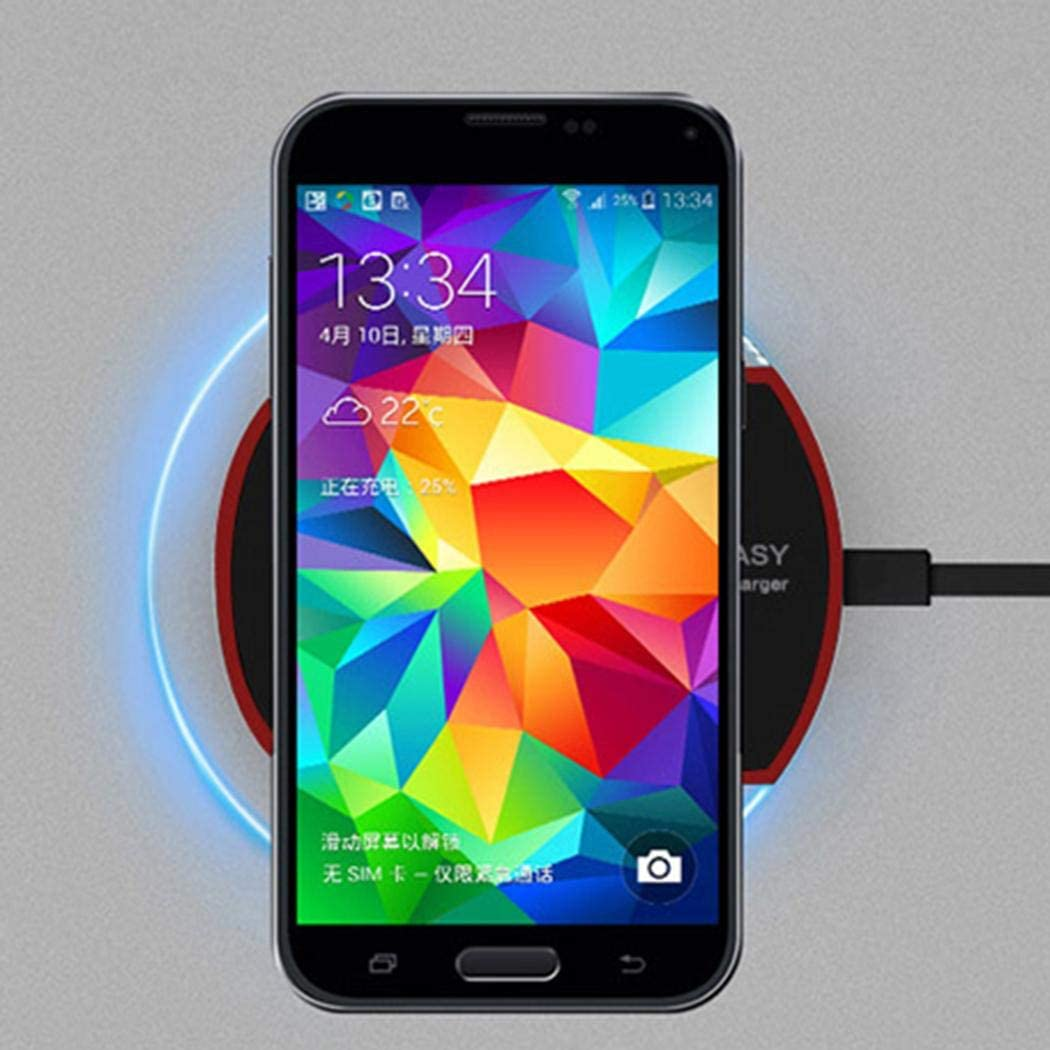 Nabsna Mini Mobile Phone Wireless Charger Fast Charge Charging Stations