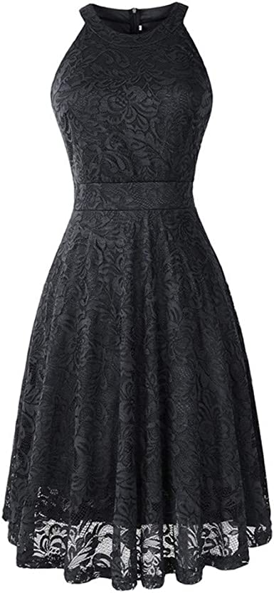 classic latest top brands Amazon.com: ONLY TOP_Clothing Womens Lace Off Swing Dress Wedding ...