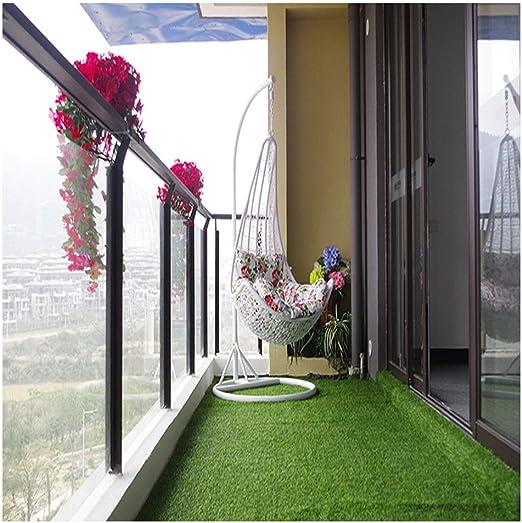 Césped Artificial, Césped Artificial Antienvejecimiento para Jardín Boda Balcón Estera De Césped Tamaño 6.5 * 8 Pies Altura De Césped 1 Pulgada (Color : Spring Grass Color): Amazon.es: Hogar