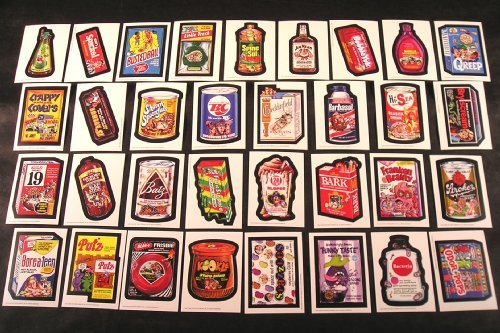 Series 1 Sticker - Wacky Packages Old School Series 1 Set of 33 Stickers with Puzzle