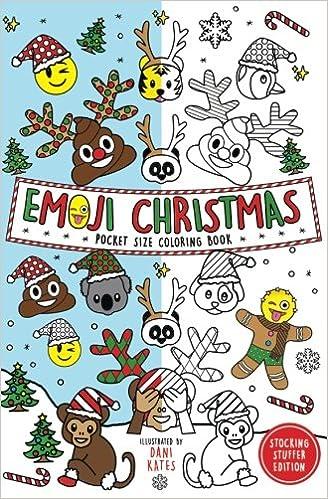 Amazon.com: Emoji Christmas Pocket Size Coloring Book ...