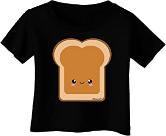 TooLoud Cute Matching Design Jelly Infant T-Shirt Dark PB and J