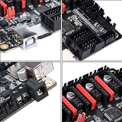 BIQU 3D Printer Part SKR Mini V1 1 32bit Control Board Marlin 2 0 Open  Source Compatible with Ramps1 4/1 5/1 6 Support A4988/8825/TMC2208/TMC2100