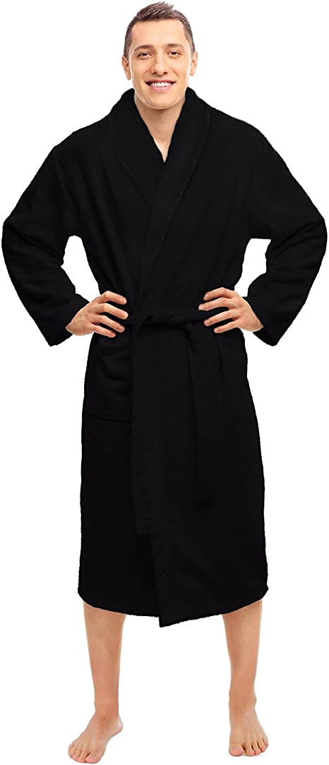 Bambury Microplush Super Soft Unisex Bathrobe Blush