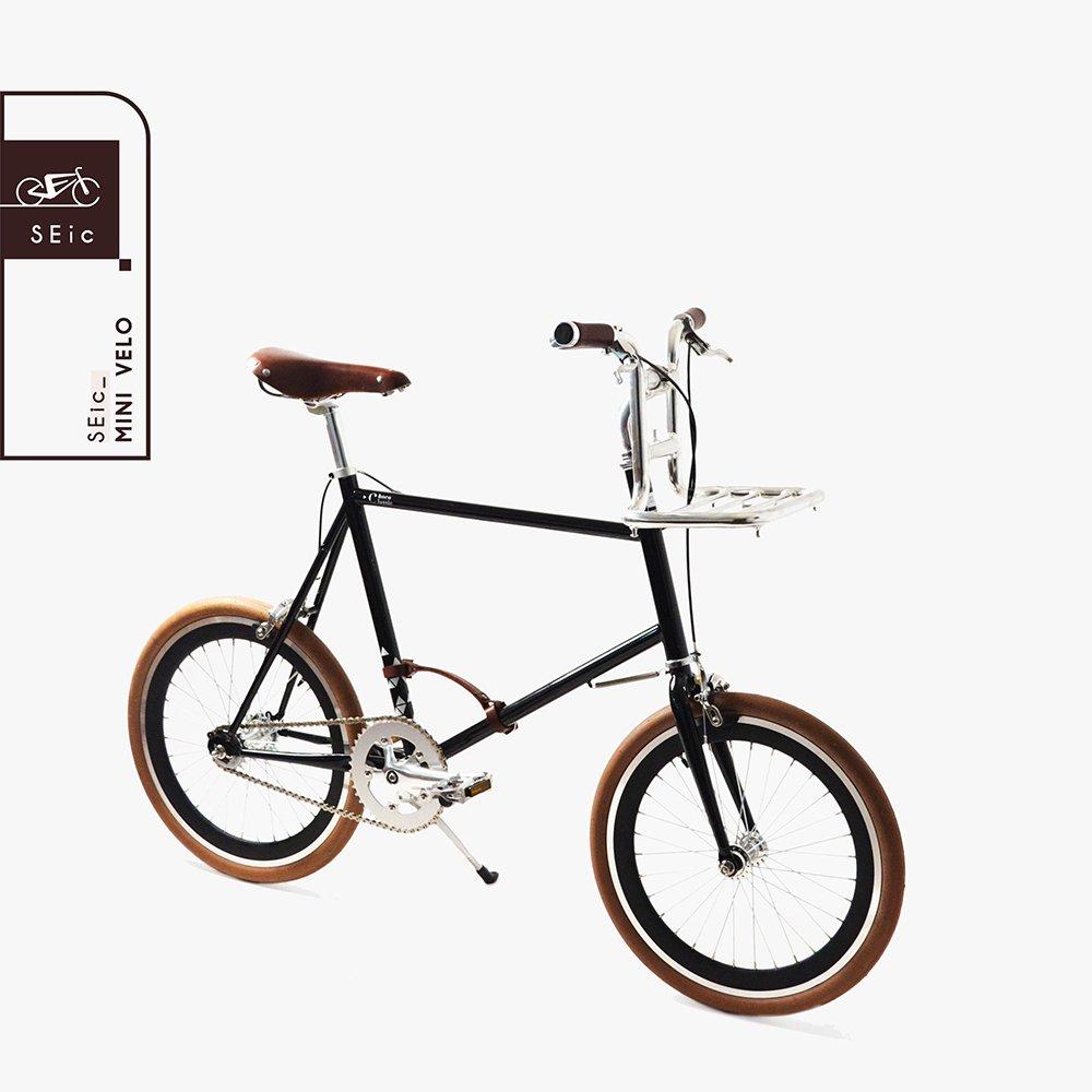 <<台湾SEic自転車工場直送>>超軽量スタイリッシュデザイン20インチ3段変速_シティサイクルミニベロSEic Mini Velo Choco-Classic B07DVKNYWB