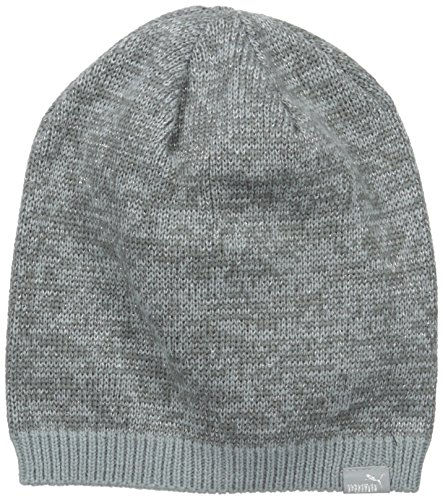 PUMA Women's Evercat Beanie, Dark Grey, OS Puma Woven Cap