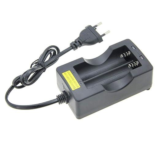 UltraFire - Cargador de batería 18650, pilas recargables ...