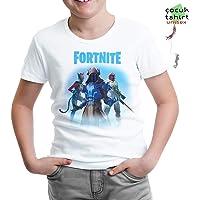 Lord Tshirt-Fortnite - Ice King Beyaz Çocuk Tshirt