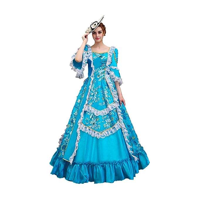 KEMAO - Disfraz de Rococo Victoriano para Mujer: Amazon.es ...