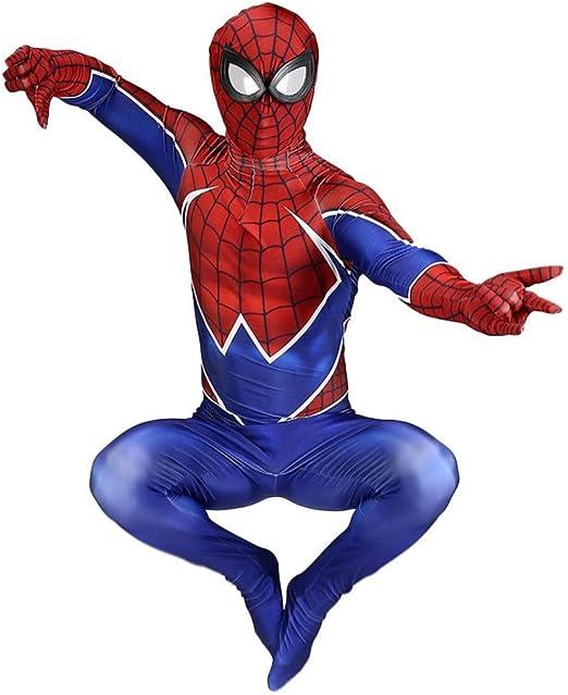ERTSDFXA Spiderman Medias Siamés Juego De rol Spandex Disfraz De ...
