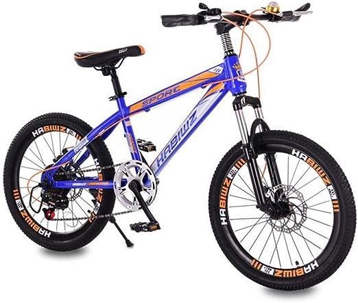 HUALQ Bicicleta niño Bicicleta 20 Pulgadas 8-12 años Amortiguador ...