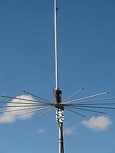 Sirio Antenna Sirio 2016 (26.4-28.2 Mhz) 5/8 Wave 3000 Watts Tunable 10M & CB Base Antenna