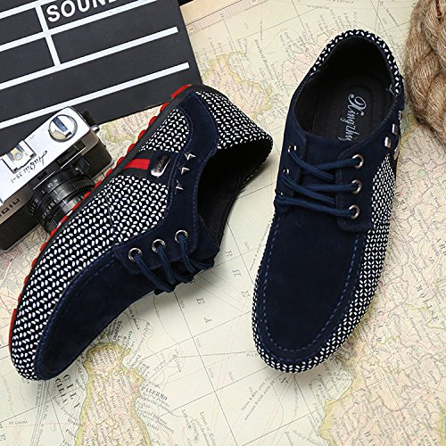 Inconnu LIEBE721 LIEBE721 Mode Casual Chaussures Grille Lace up Homme Chaussure Hommes Populaire Chaussures de Loisirs Homme Chaussure Loafer uCXW37rWL