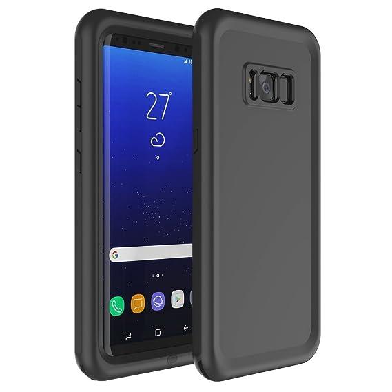 reputable site de993 75184 Amazon.com: Galaxy S8 Waterproof Case, iThrough 6.6ft/2M Underwater ...