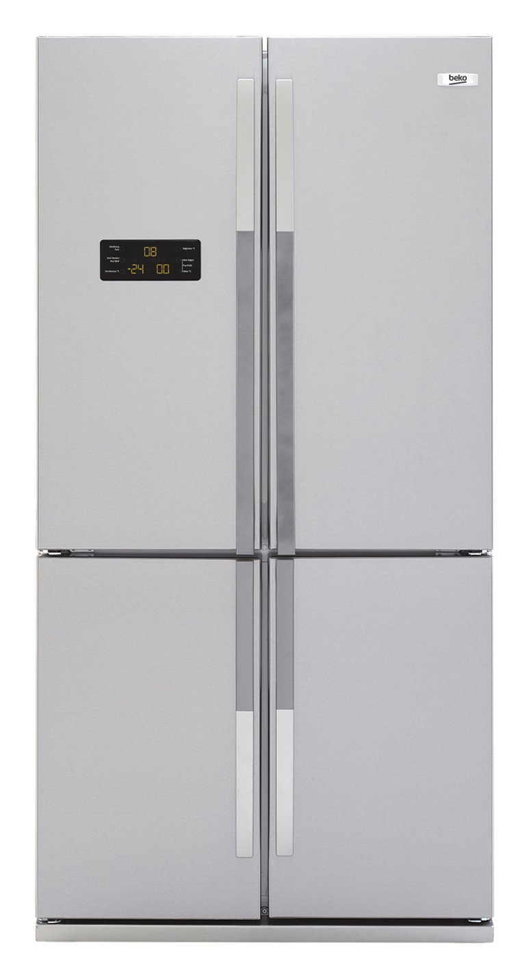 Beko GNE 114612 FX - Frigorífico Side By Side Gne114612Fx No Frost ...