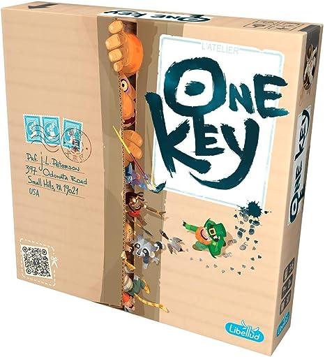 Asmodee- One Key - Juego de Mesa - Español, Color (LIBOK01ESPT): Amazon.es: Juguetes y juegos