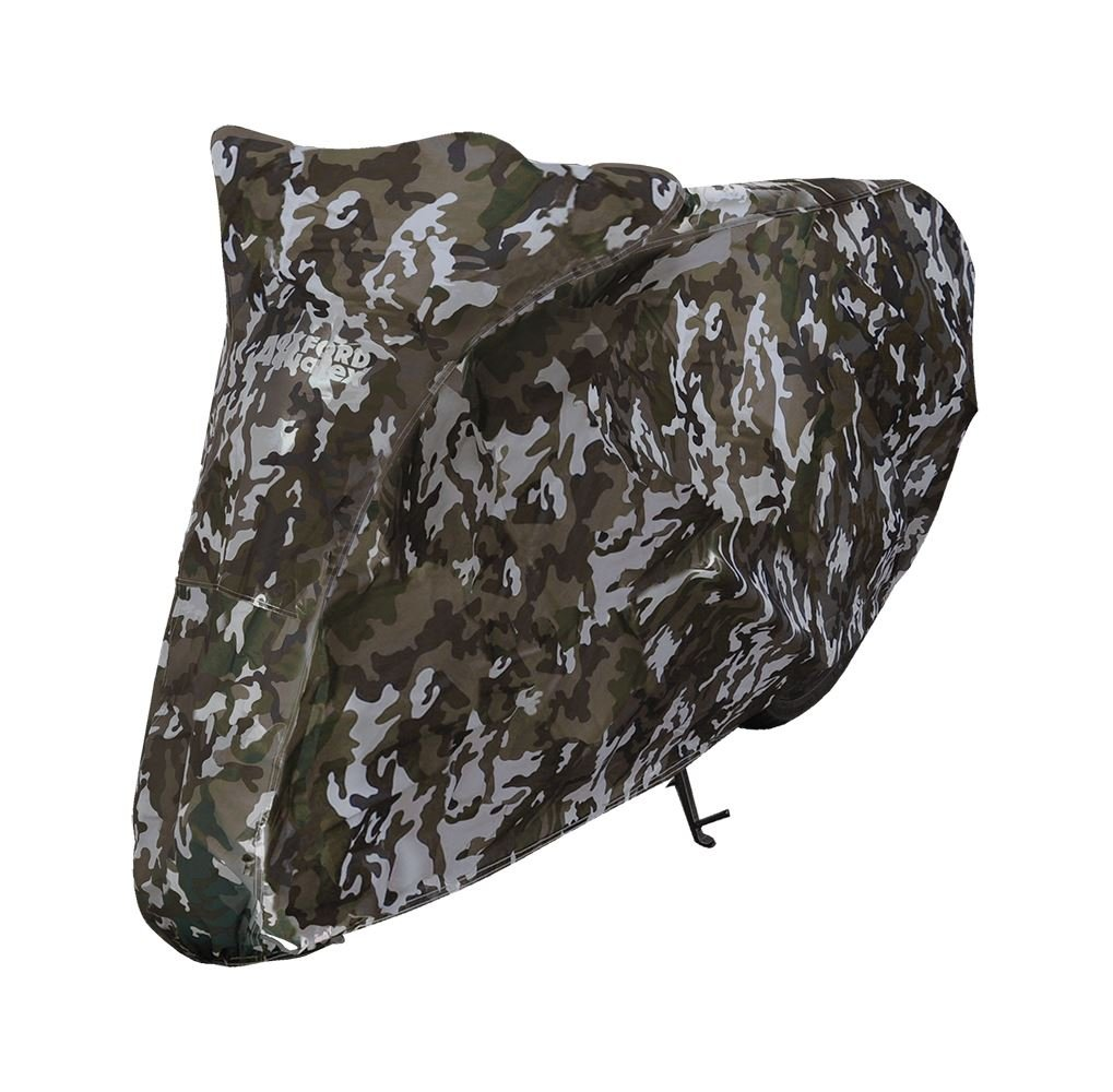Honda MSX125 Oxford Motorcycle Cover Waterproof Motorbike Camouflage Camo